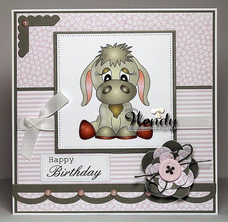 Crazy4flowers cards: Delightful Thursday at Digital Delights....