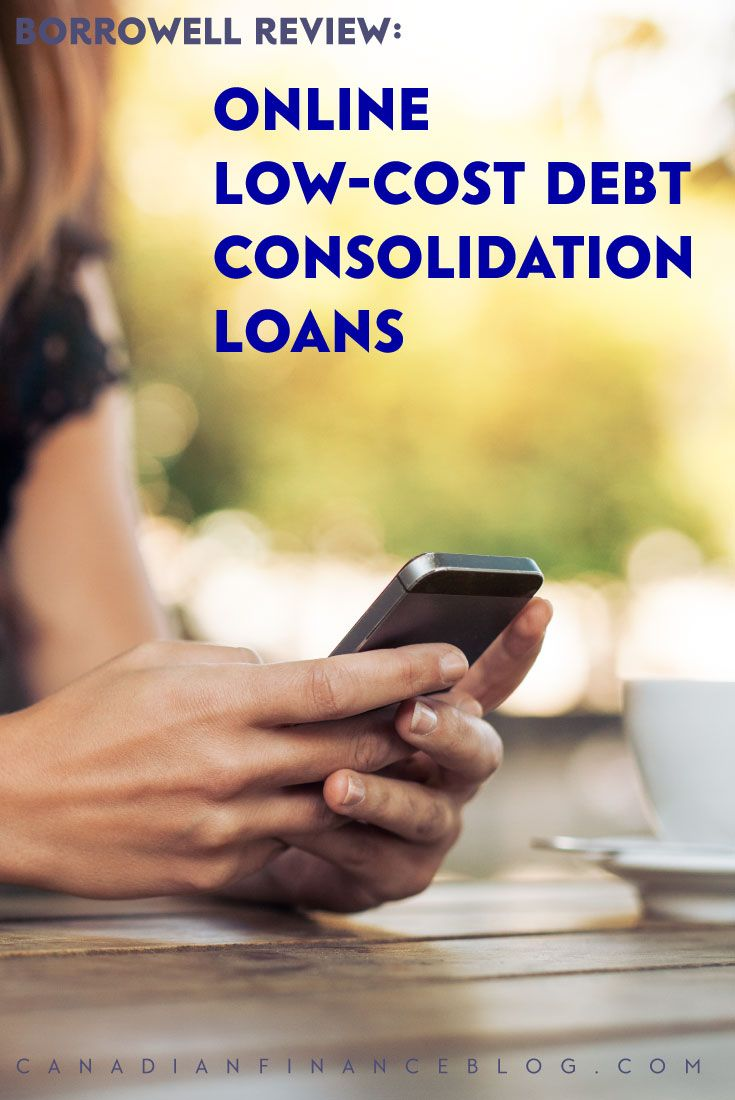 Borrowell is an an online debt consolidation loan that's one of the easiest ways for Canadians to lower their interest rates on credit card debt.