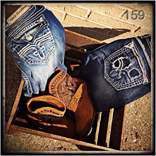 Rock Revival Jeans and Boots