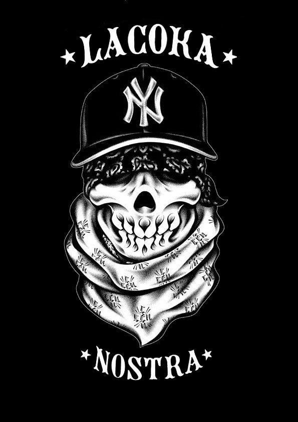 SKULL - La Coka Nostra by ~Hysteria7 on deviantART