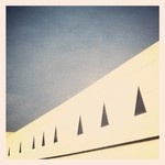 Instagram/kristinenor  Detail from Palma Airport, Mallorca www.amic-hotels.com