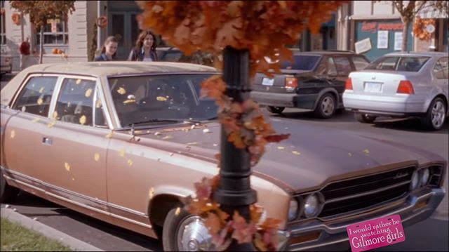 Gilmore Girls I/'d rather be at Stars Hollow Pink License Plate Car Tag