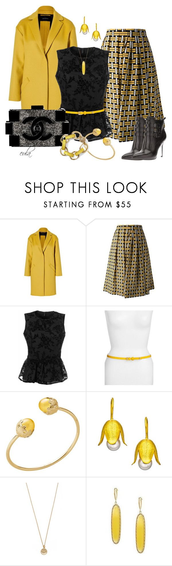 """""""The Chanel Lego Clutch Contest (Outfit Only)"""" by eula-eldridge-tolliver ❤ liked on Polyvore featuring Cédric Charlier, Fendi, Benetton, Tory Burch, Baccarat, Rena Luxx, Pim + Larkin, Bing Bang, VicenzaGold and MICHAEL Michael Kors"""