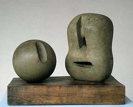 Henry Moore ( is this in fact Henry Moore, I cannot confirm)