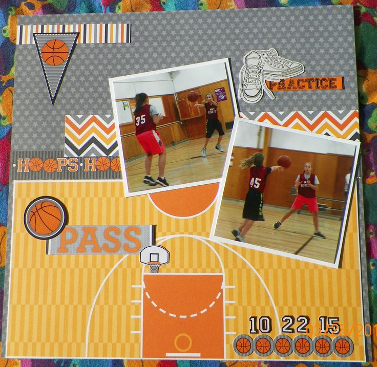 17 Best Images About Sports Scrapbookin On Pinterest