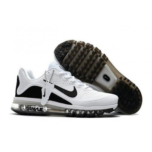 Official site 2017 KUP Nike Air Max White Black Price