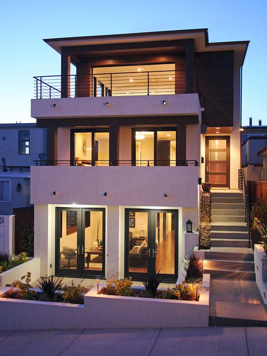 25 best ideas about house facades on pinterest modern for Exterior design of small houses