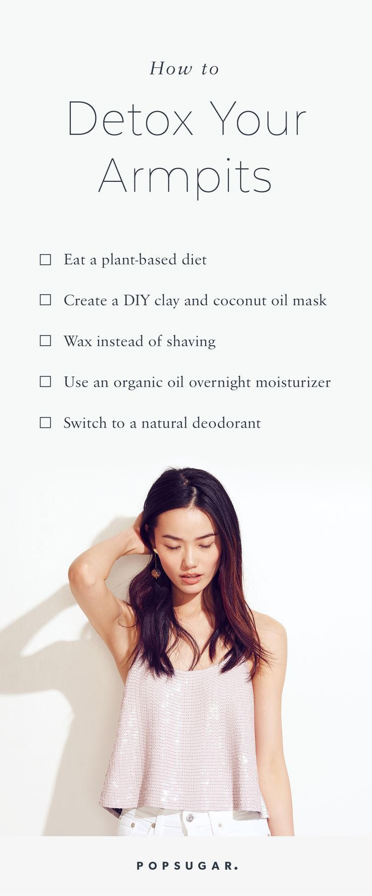 Tips to sensational summer skin - Follow These Steps To Detox Your Armpits