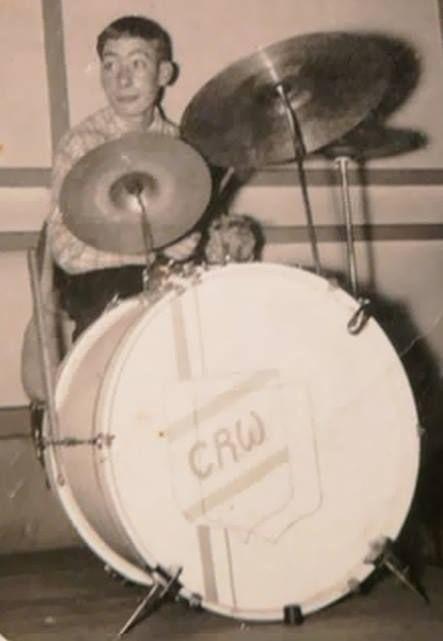 Charlie Watts future Stones drummer