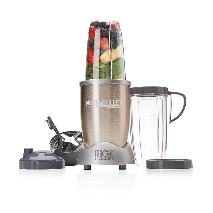NutriBullet PRO 900 Take your health transformation to the next level with the optimized extraction and absorption capabilities of the NutriBullet PRO. With 900 watts of power, the NutriBullet PRO breaks down the toughest ingredients including seeds, wheat grass and whole fruit!