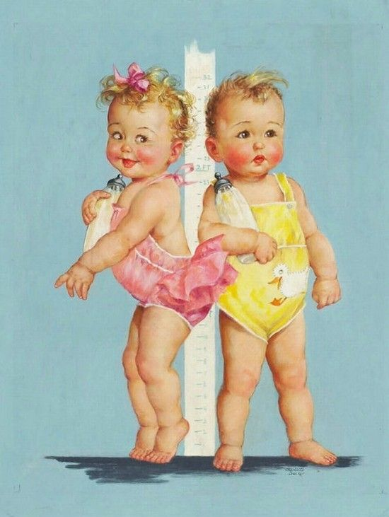 Charlotte Becker - measuring height.