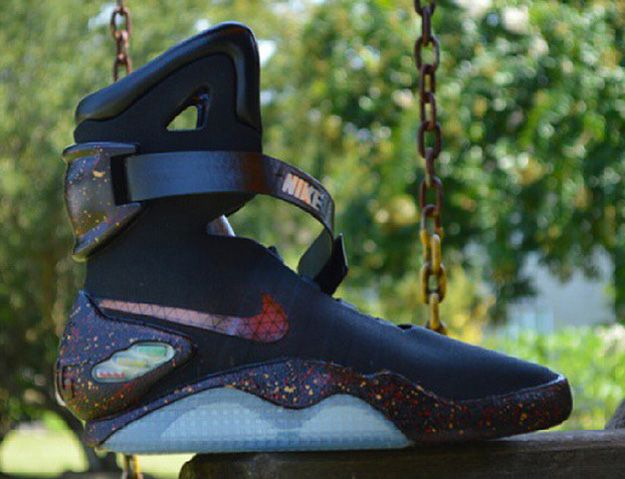 Check Out These Nike Air Mag Quot Black Quot Customs By Kickasso