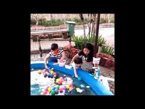 when cherys fishing with aa raihan