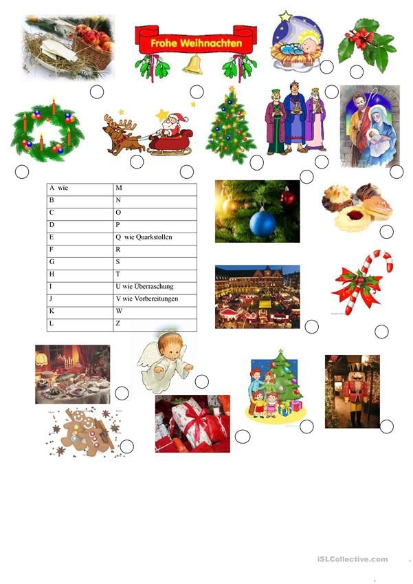140 best Weihnachten (Deutsch für Kinder) images on Pinterest ...
