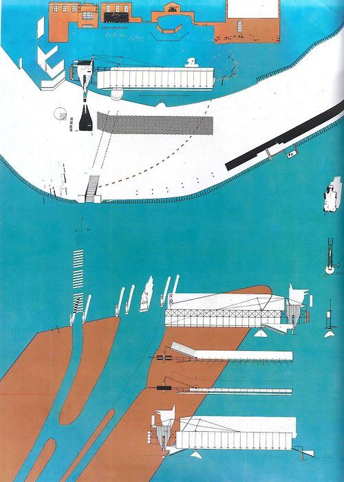 the paradise bridge_bolles+wilson. amsterdam . 1988