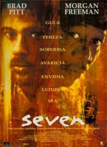 Posters de cine. Película: Seven