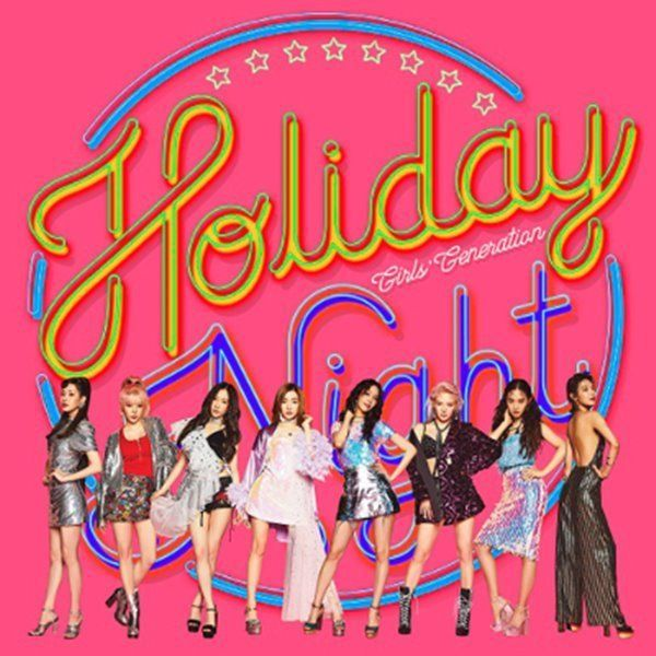 "Girls' Generation SNSD 6th Album ""Holiday Night"" 2Ver SET CD+Booklet+Poster+Card #Pop"
