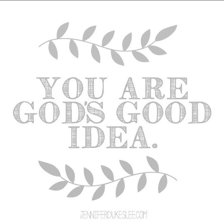 Before God made the earth, He planned you.