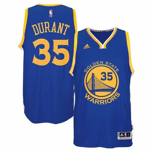 8b1636a0 Men's adidas Kevin Durant Royal Golden State Warriors Road Swingman Jersey