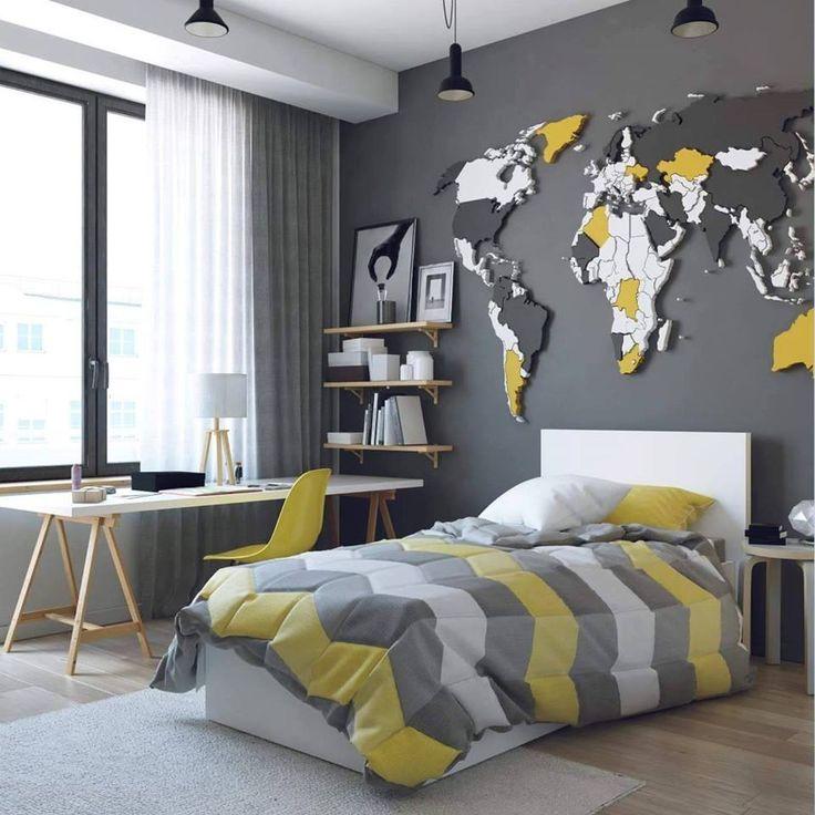 World map for the little traveler.