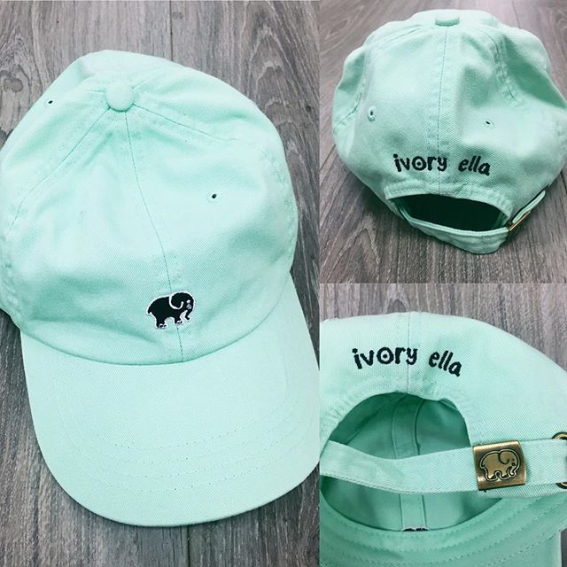 mint ella hats coming @ midnight