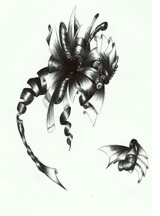 Dragon and bee <3