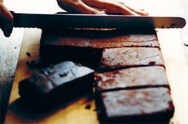 Ravinder Bhogal's choc orange brownies
