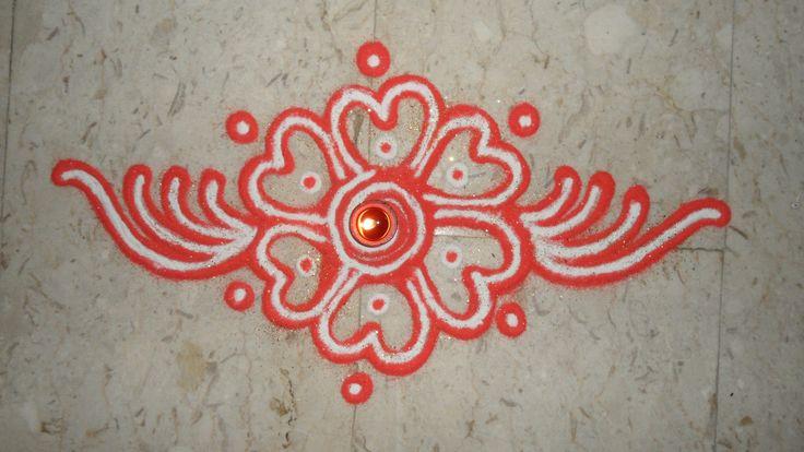 My Rangoli...
