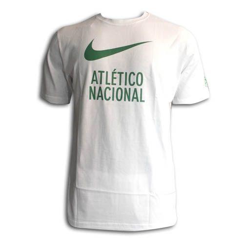 CAMISETA ALGODON ATL NACIONAL BLANCA : Atlético Nacional