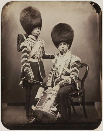 Scots Fusiler Guards in the Crimean War c1855: