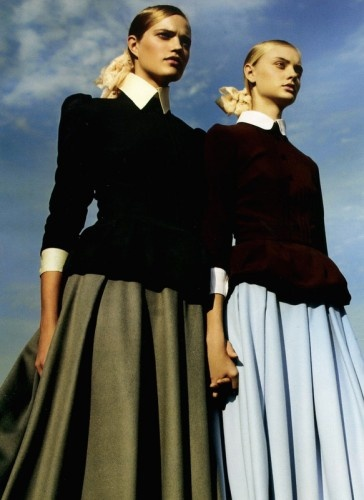 twins style for Vogue US