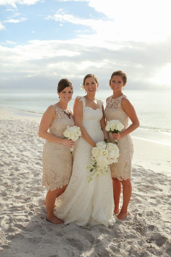 Vintage 1920's themed beach wedding | The Frosted Petticoat
