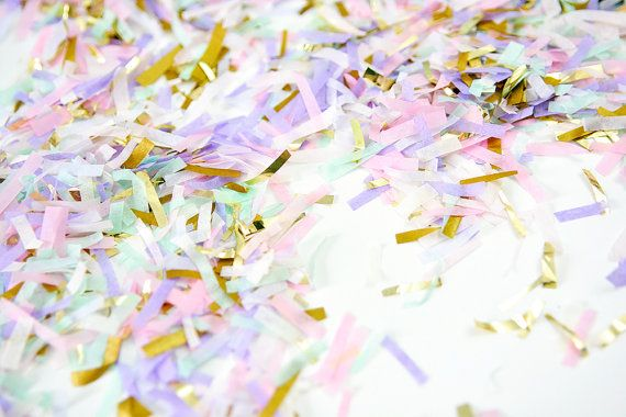 Unicorn Confetti, Pastel Confetti, Unicorn Party Confetti, Unicorn Kids Party, Unicorn Photo Prop, Unicorn Baby Shower, First Birthday
