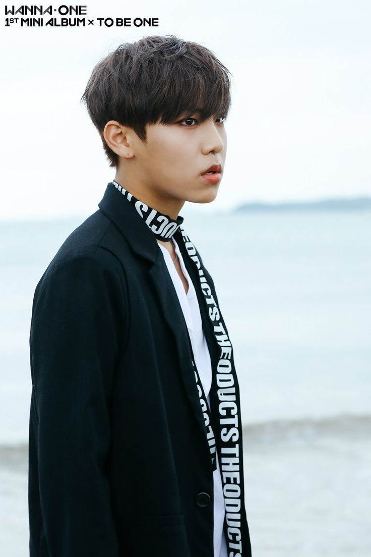 Woojin - Wanna One | Burn it Up BTS Photos