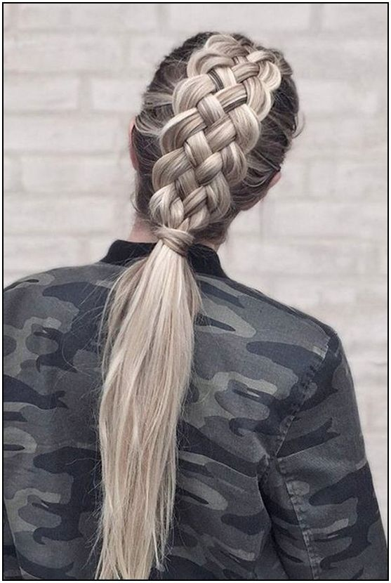 152+ braid hairstyle ideas for girls nowadays – page 15