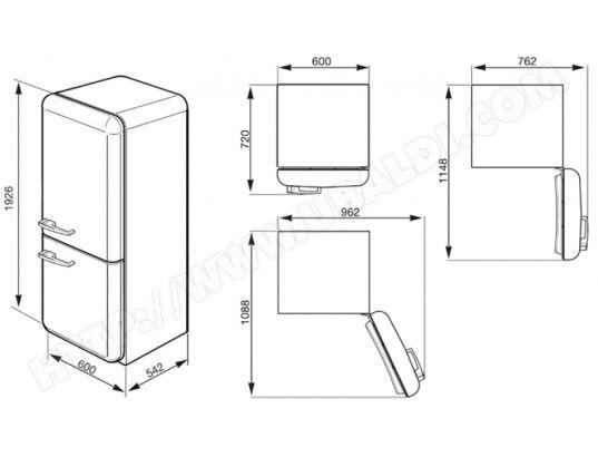 Réfrigérateur combiné SMEG FAB32LVN1