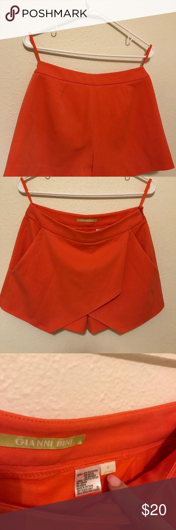 I just added this listing on Poshmark: Gianni Bini Orange Skort - Size 2. #shopmycloset #poshmark #fashion #shopping #style #forsale #Gianni Bini #Pants