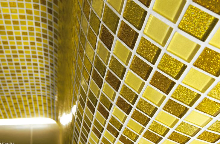 Mozaika szklana brokatowa - Primavera by Fabrizio Moretti - BM125 złota