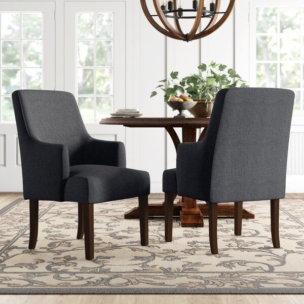 One Sure Way To Transform A House Into A Home Is With A Sturdy Upholstered Dining Chair Like Th Dining Chairs Comfortable Dining Chairs Dining Chair Upholstery Comfortable dining chairs with arms