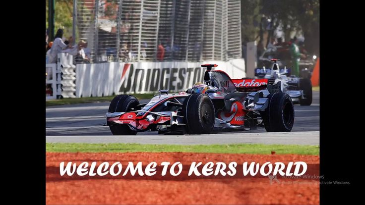 Formula One Kinetic Energy Recovery System(KERS) Explained