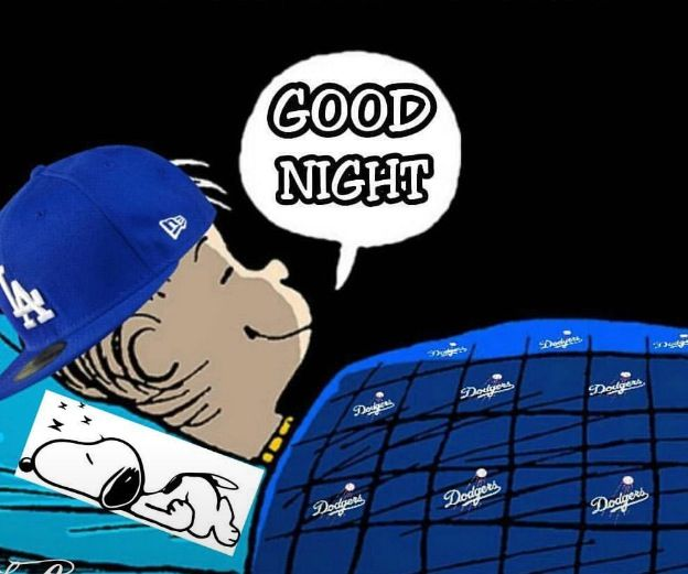 Goodnight Dodger Fam.