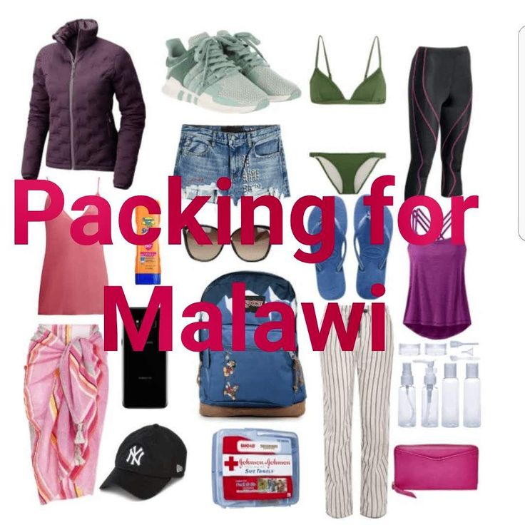 Packing for Malawi! Some handy tips and tricks.