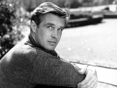 George Peppard. So perfect. Especially as 'Fred' in Breakfast at Tiffany's. HEART.