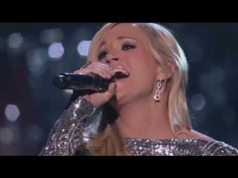 CARRIE UNDERWOOD with Vince Gill ~ How Great Thou Art. Amazing performance.