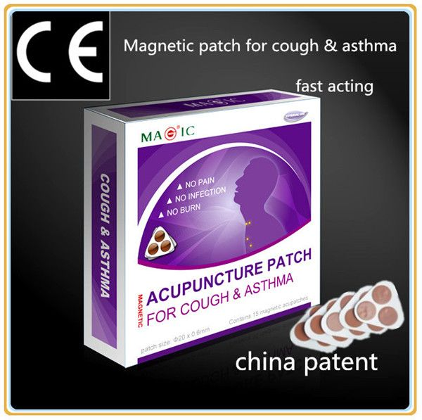magnetic acupuncture patch for cough and asthma ...