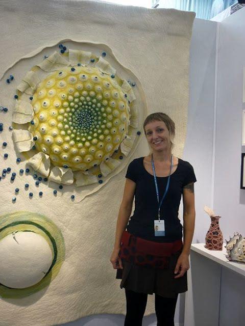Felt Textile Art: Maria Friese    This is amazing