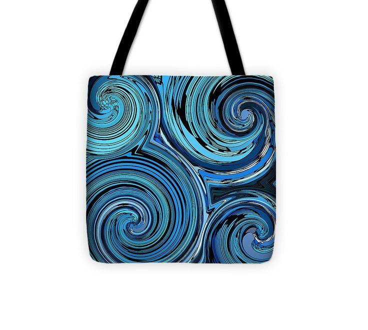 Whirl 3 Tote Bag #totebag #bag #abstract #colorful #design #art #Lifestyle