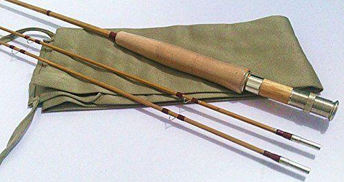 """New Split Tonkin Bamboo Fly Rod,2 Piece 2 Tips ,8'0"""" for #6 Line Wt  http://fishingrodsreelsandgear.com/product/new-split-tonkin-bamboo-fly-rod2-piece-2-tips-80-for-6-line-wt/  bamboo fly rod split cane fly rod bamboo flyfishing rod"""