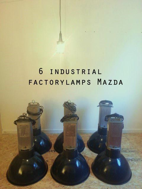6 awesome industrial factorylamps by Mazda