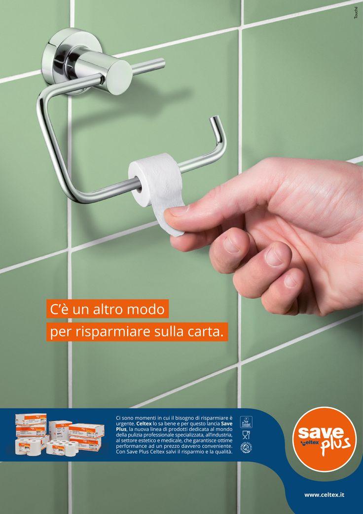 """""""C'è un altro modo per risparmiare sulla carta."""" http://www.lelecorni.com/3843/  #ADVERTISING, #Celtex, #ToucheAdv #lelecornistudio"""